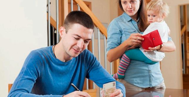 Что делать, если супруг не дает средств?