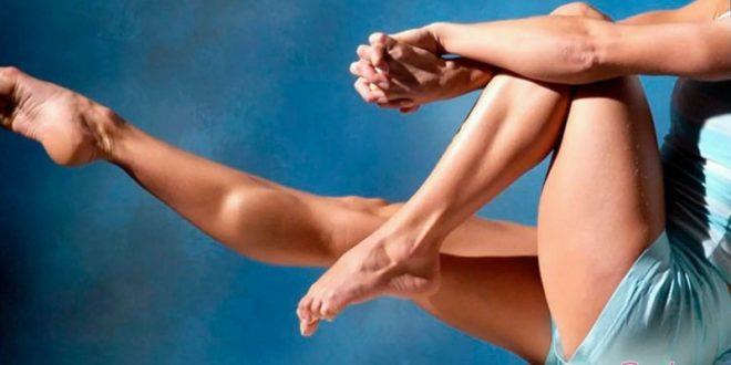 Как накачать икры ног девице