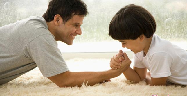 Муж-отец и воспитание малышей