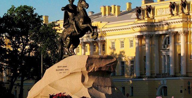 Путешествие в Петербург всей семьей