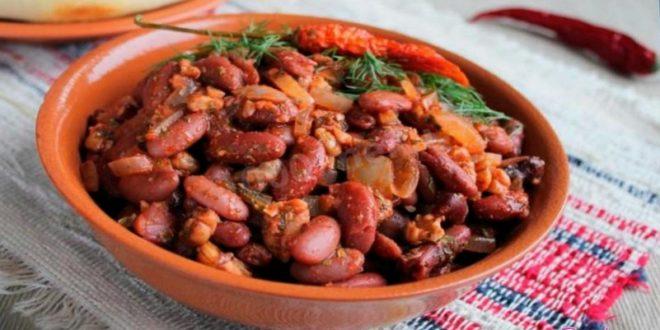 Лобио с мясом: пошаговый рецепт по грузински