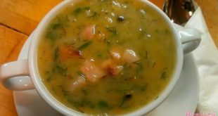 гороховый суп для выходного денька