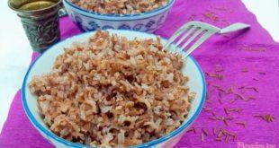 Как варить красноватый рис