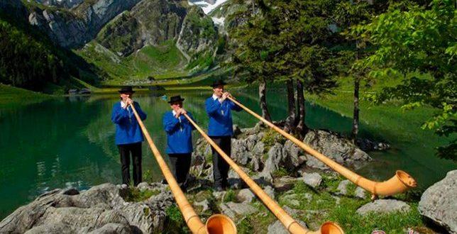 Швейцария – сочетание красочной природы