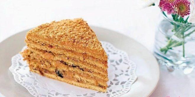 Тортик Рыжик медовый