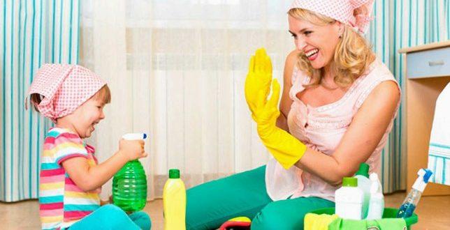 Как приучить малыша к домашнему труду