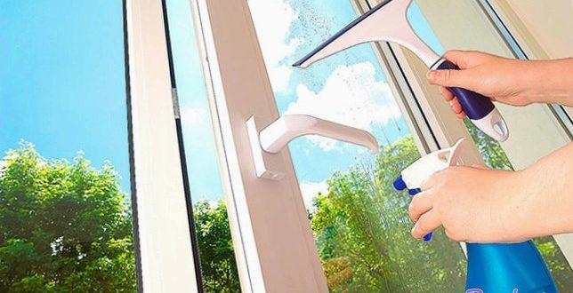 Вымыть окно – дело сложное