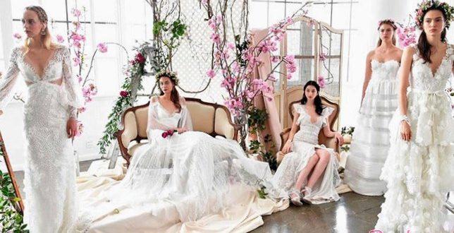 Престижные свадебные платья 2019. Весна-лето