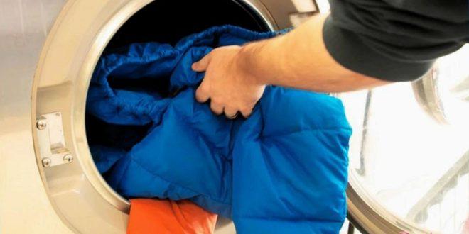 Как правильно стирать пуховик