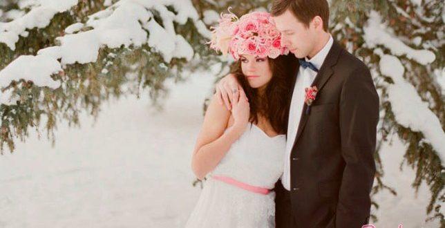 Зимние свадебные девайсы